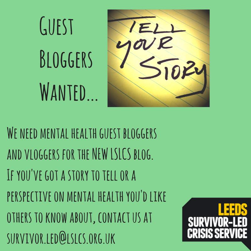 Leeds Survivor Led Crisis Service » The LSLCS Blog is open for
